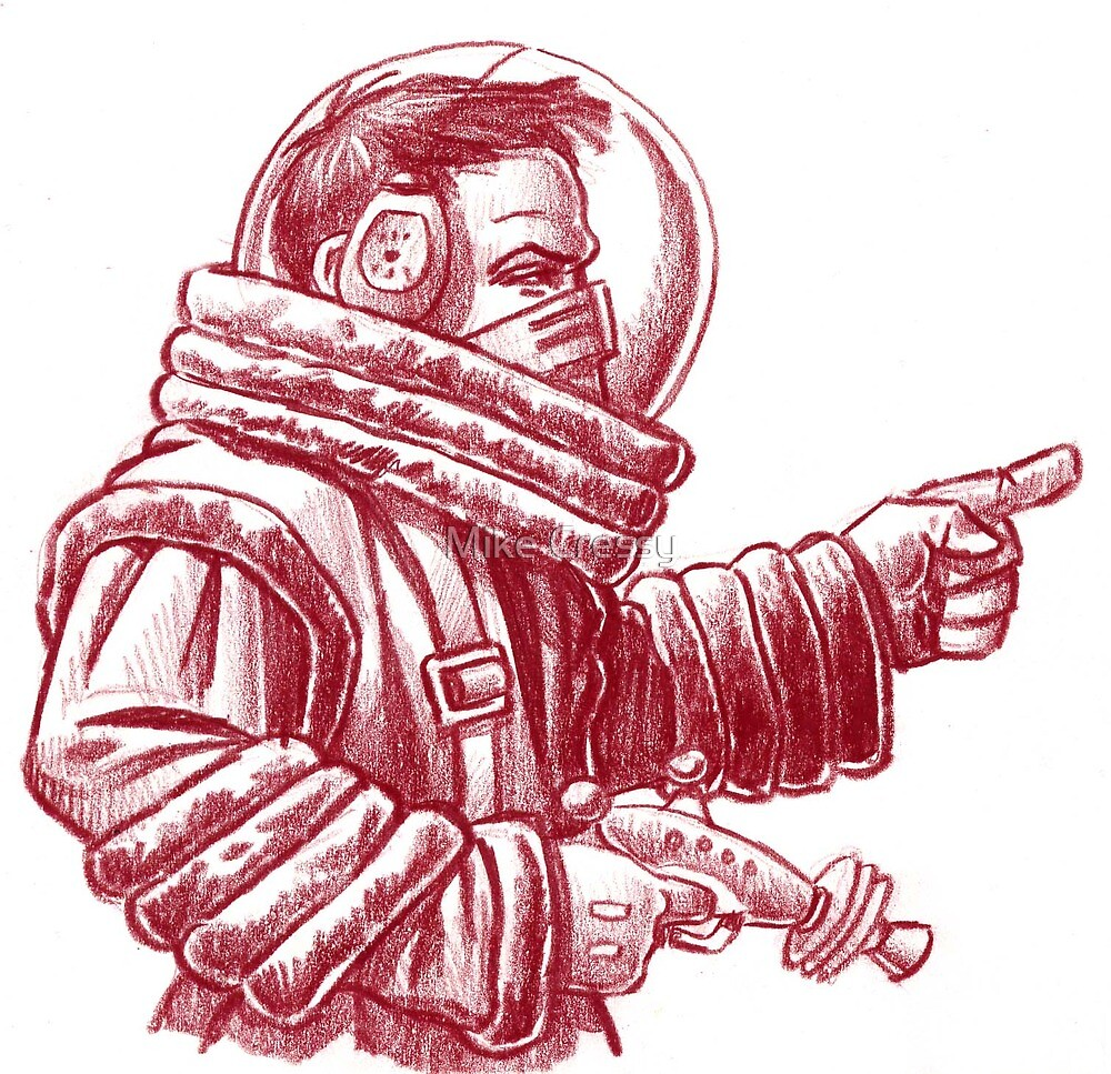I AM the Space Commander! by Mike Cressy