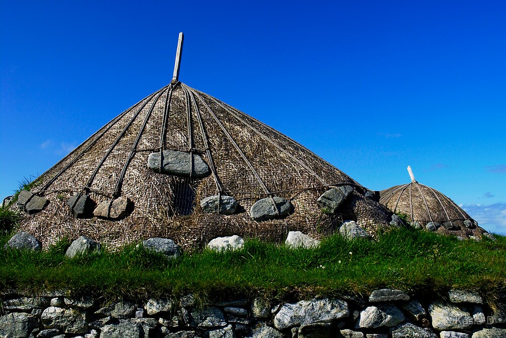 Thatched Rooves by Kasia-D