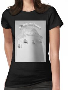 Knowledge Tower Womens Fitted T-Shirt