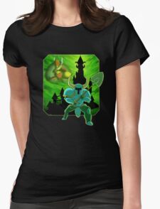 Onward To The Tower of Fate! Womens Fitted T-Shirt
