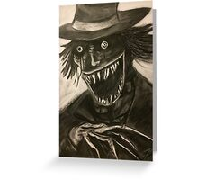 You can't get rid of the Babadook! Greeting Card