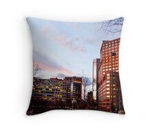 Downtown Denver Throw Pillow