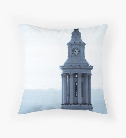 Denver Civic Center Clock Tower Throw Pillow