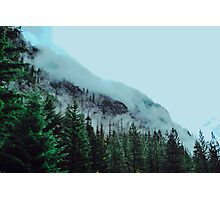 Mist Over The Mountain Photographic Print