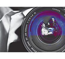 Blue Velvet Photographic Print