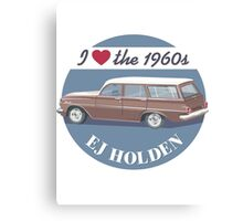 EJ Holden - I love the 1960s Canvas Print