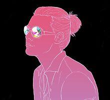 Harry Styles Kaleidoscope Glasses by nyodo