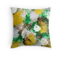 Forest Abstract Art Throw Pillow
