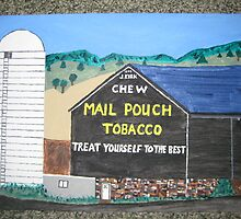 Mail Pouch Tobacco Barn by JeffreyKoss