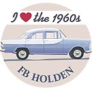 FB Holden - I love the 1960s by contourcreative