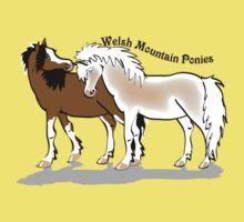 Welsh Mountain Ponies tee by Diana-Lee Saville