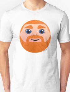 Ginger Head (Blue Eyes) Unisex T-Shirt