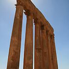 Baalbek, Lebanon - Temple of Jupiter by sccaldwell