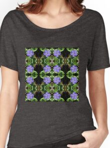 Vinca (Periwinkle) - In the Mirror Women's Relaxed Fit T-Shirt