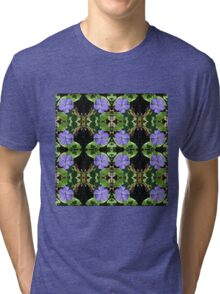 Vinca (Periwinkle) - In the Mirror Tri-blend T-Shirt