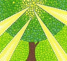 Tree mana energy by Elspeth McLean