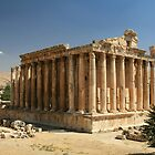 Baalbek, Lebanon - Temple of Bacchus by sccaldwell
