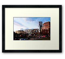Downtown Denver Framed Print
