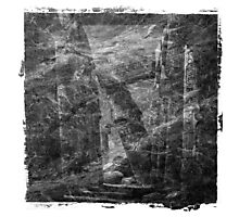 The Atlas of Dreams - Plate 16 (b&w) Photographic Print