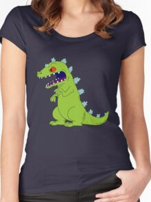 Reptar Women's Fitted Scoop T-Shirt