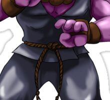 Sesame Street Fighter: Acountma Sticker