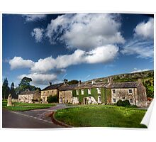 The Cottages Arncliffe Poster