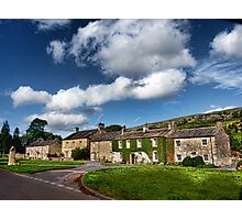 The Cottages Arncliffe Photographic Print