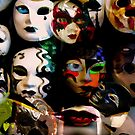 "Masks we all wear "" Mask series"" by Martin Dingli"