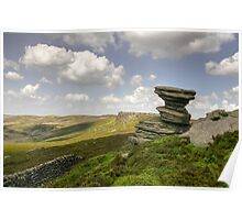 The Salt Cellar:  The Peak District Poster