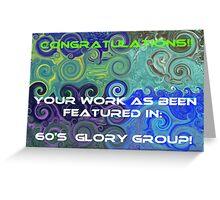 banner challenge Greeting Card