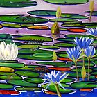 waterlillie pond by John Segond