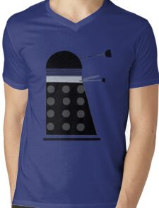 Dalek (Black) Mens V-Neck T-Shirt