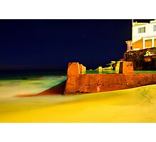 Pre dawn Coogee Photographic Print
