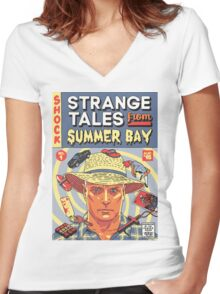 Strange Tales from Summer Bay Women's Fitted V-Neck T-Shirt