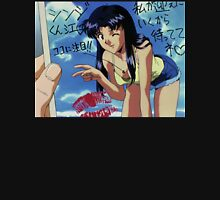 Neon Genesis Evangelion - Misato Postcard - 2015 1080p Blu-Ray Cleaned Upscales Unisex T-Shirt
