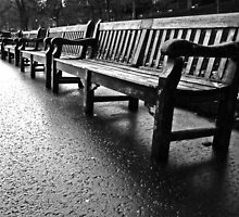 Benches to infinity by Matthias Keysermann