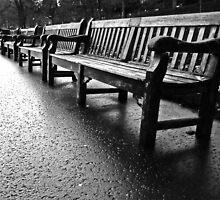 Benches to infinity by Matthias Keysermann