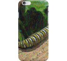 Monarch Caterpillar - Garden Days iPhone Case/Skin