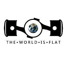 The World Is Flat Photographic Print