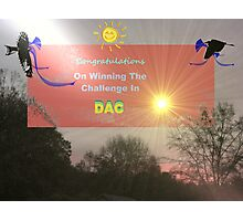 DAC Challenge Banner Photographic Print