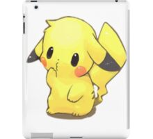 Cute pikachu iPad Case/Skin
