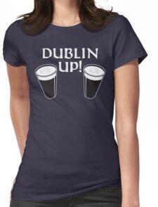 Dublin Up Womens Fitted T-Shirt