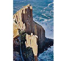TASMAN PENINSULA ~ Cape Raoul Cliff by tasmanianartist Photographic Print
