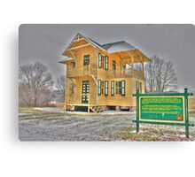 Guard House Canvas Print