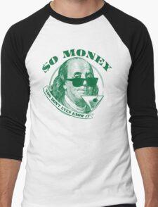 So Money Men's Baseball ¾ T-Shirt