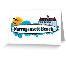Narragansett - Rhode Island. Greeting Card