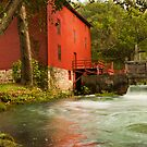 Alley Spring Grist Mill  by Gregory Ballos | gregoryballosphoto.com
