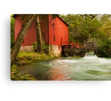 Alley Spring Grist Mill  Canvas Print