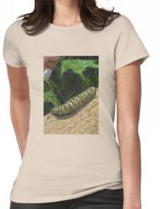 Monarch Caterpillar - Garden Days Womens Fitted T-Shirt