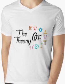 The teory of evolution Mens V-Neck T-Shirt